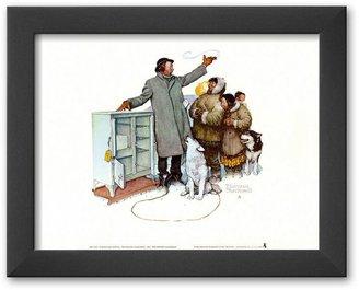 """Art.com Expert Salesman"""" Framed Art Print by Norman Rockwell"""