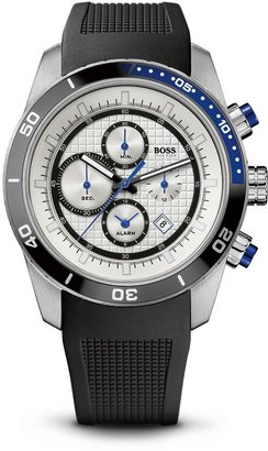 HUGO BOSS '1512660'   Black Silicon Strap Chronograph Watch by BOSS