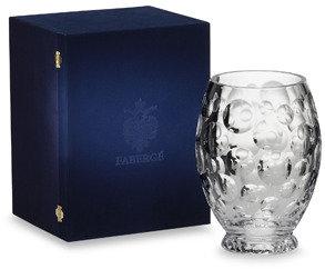 """Faberge Bubbles 10"""" Vase"""
