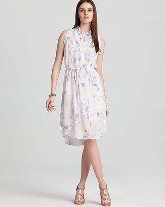 Rebecca Taylor Print Dress - Hawaii with Beaded Collar