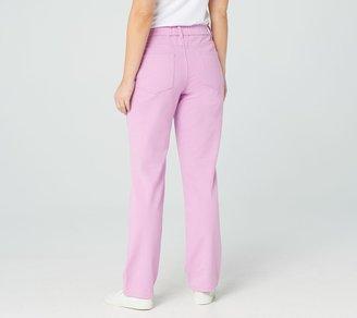 """Quacker Factory """"DreamJeannes"""" Pull-on Regular Straight Leg Pants"""