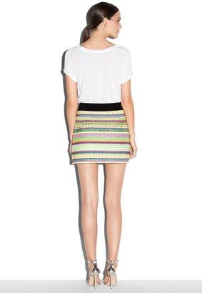 Milly Ribbon Mini Skirt