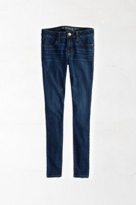 American Eagle Outfitters Medium Wash Factory Jegging Jeans
