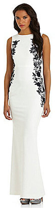Jill Stuart Jill Beaded Embroidered Gown