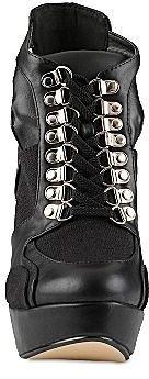 Call it SPRING Gwoidien Lace-Up Platform High-Heel Booties
