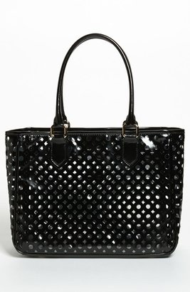 Milly 'Addison' Patent Leather Tote Mint
