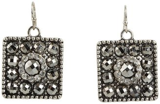M&F Western Square Concho Earrings