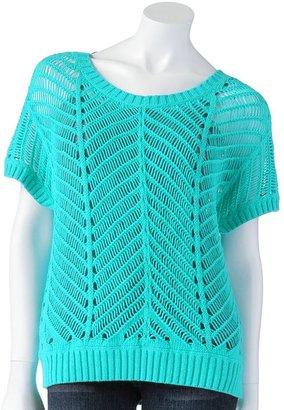 Lauren Conrad open-work sweater