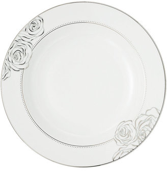 Monique Lhuillier Waterford Dinnerware, Sunday Rose Rim Soup Bowl