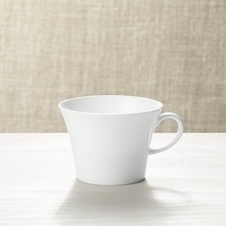Crate & Barrel White Pearl Cup