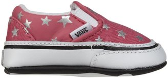 Vans Classic Slip-On - Hot Pink Metallic Stars-1