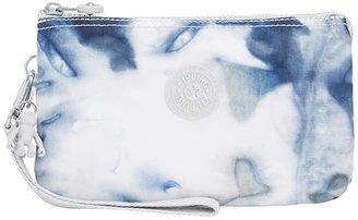 Kipling Creativity XL Pouch (Tie-Dye Blue) Clutch Handbags