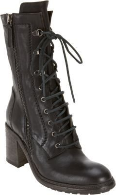 Barneys New York Double Zip Combat Boot