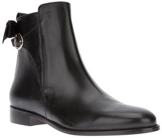 RED Valentino bow ankle boot