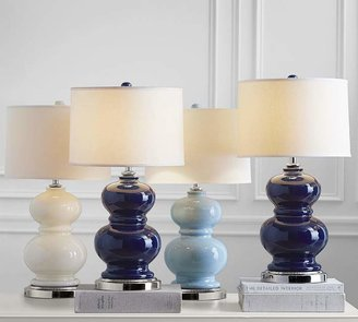 Pottery Barn Alexis Ceramic Lamp Base