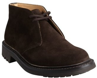 Church's brown suede lace-up thick-soled 'McEwan' chukka boots