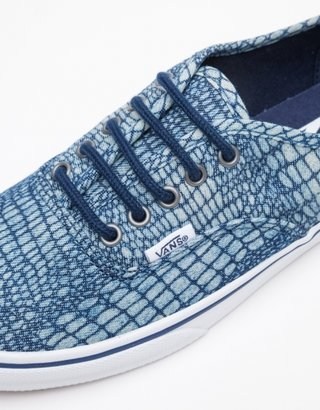 Vans Authentic Lo Pro in Snake