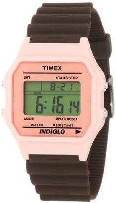 Timex Women's T2N2419J Fashion Digitals Premium Pink Watch $41.50 thestylecure.com