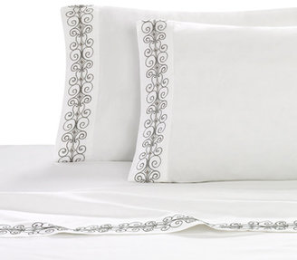 Panna Bombay Full Embroidered Sheet Set