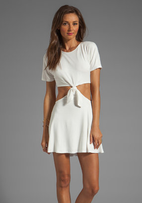 Naven Casuals Knotted T Dress