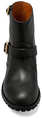 Marc by Marc Jacobs MBMJ Classics Heavy Calf Moto Boot