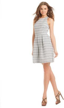 Trina Turk Cecilia Stripe A Line Dress