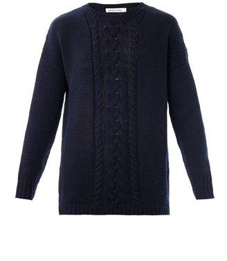 Etoile Isabel Marant Damia cable-knit sweater