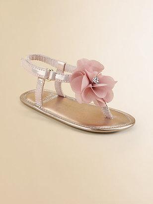 Stuart Weitzman Infant's Flower Sandals
