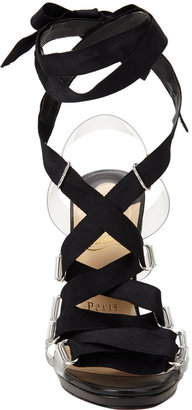Christian Louboutin Nymphette Lace-Up Sandals