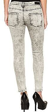 Mng by Mango® Acid-Wash Ankle-Zip Jeans