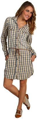 Maison Scotch Plaid Dress