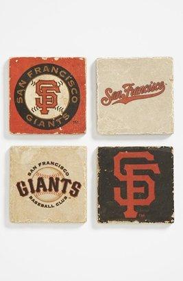 STUDIO VERTU 'San Francisco Giants' Marble Coasters (Set of 4)