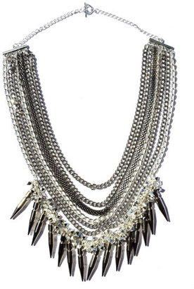 Assad Mounser Moonage Daydream Necklace In Silver