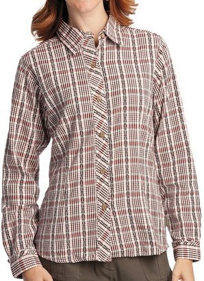 Woolrich Lovina Shirt - Cotton Dobby, Long Sleeve (For Women)