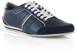 Hugo Boss Victoire LA Leather Sneakers 10 Blue