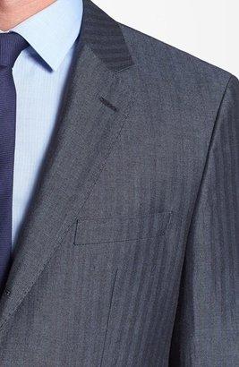 HUGO BOSS 'Johnston' Trim Fit Herringbone Sportcoat