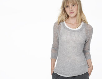 James Perse Cashmere Open Stitch Sweater