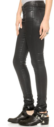 AG Jeans The Leatherette Legging Jeans