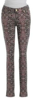 7 For All Mankind Print Skinny Jeans
