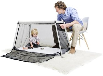 Phil & Teds Traveller Portable Bed - Silver