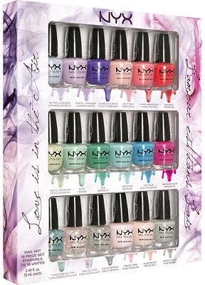 NYX Love Is In The Air Nail Art Collection