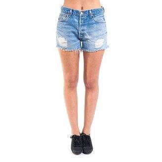 Levi's The Distressed Cutoff Shorts