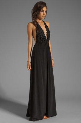 For Love & Lemons EXCLUSIVE Camillia Maxi Dress
