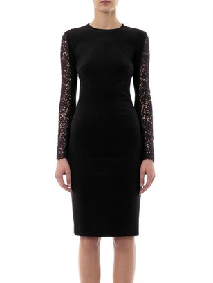 Stella McCartney Jersey and lace dress