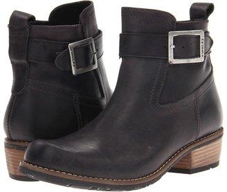 Wolky Bravo (Black Vintage Leather) - Footwear