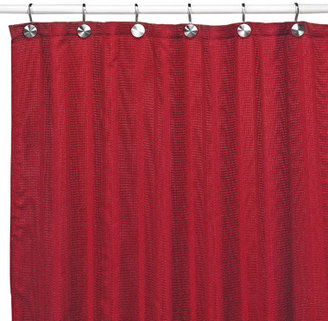 Bed Bath & Beyond Westerly Red Fabric Shower Curtain