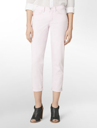 Calvin Klein Jeans Skinny Ankle Colored Roll-Up