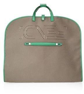 Fendi Striped Garment Bag