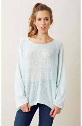 Wildfox Couture SALTY WAVES SWEATER