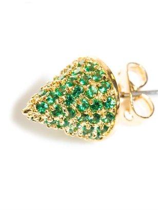Eddie Borgo Pave crystal cone earrings